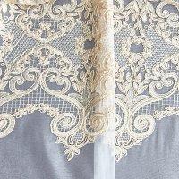Тюли с вышивкой